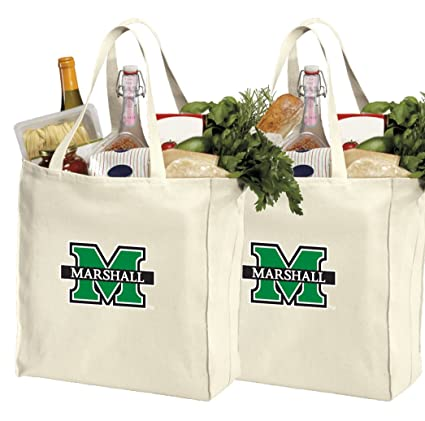Amazon.com: Reutilizable Marshall University bolsas de la ...