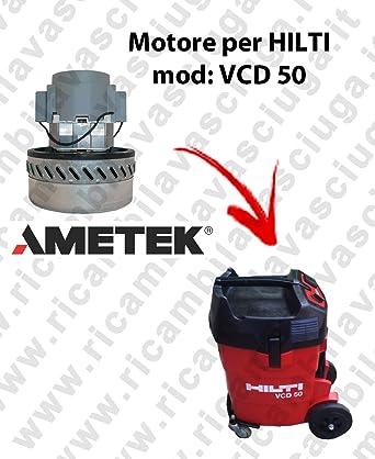 VCD 50 motor de aspiración ametek para aspiradora y te Hilti ...