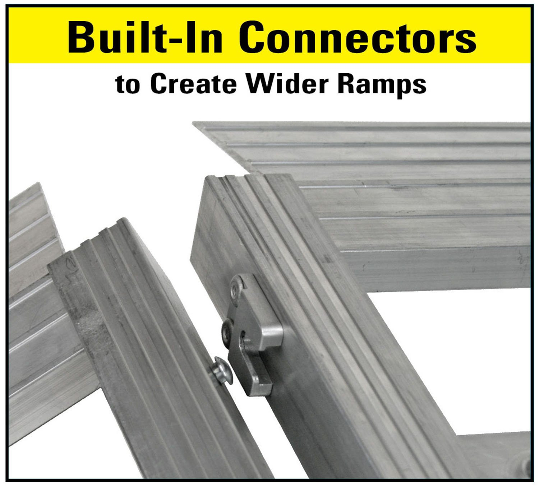 Reese Explore 7454700 69 Loading Ramp Aluminum Tri-Fold