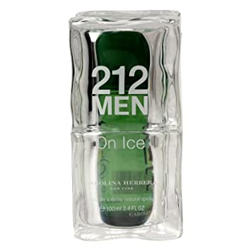 Carolina Herrera 212 on ice Green Men 100 ML: Amazon.es ...