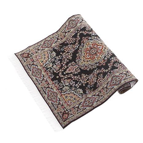 1:12 Kit de Bordado alfombra de casa de muñecas