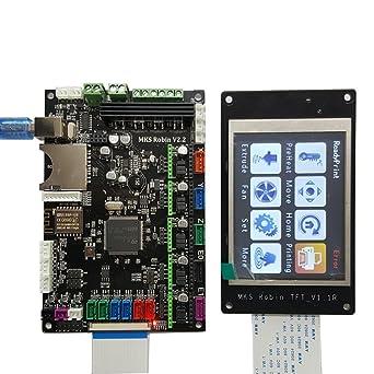 piezas de la impresora 3D MKS Robin V2.2 placa base controlador ...