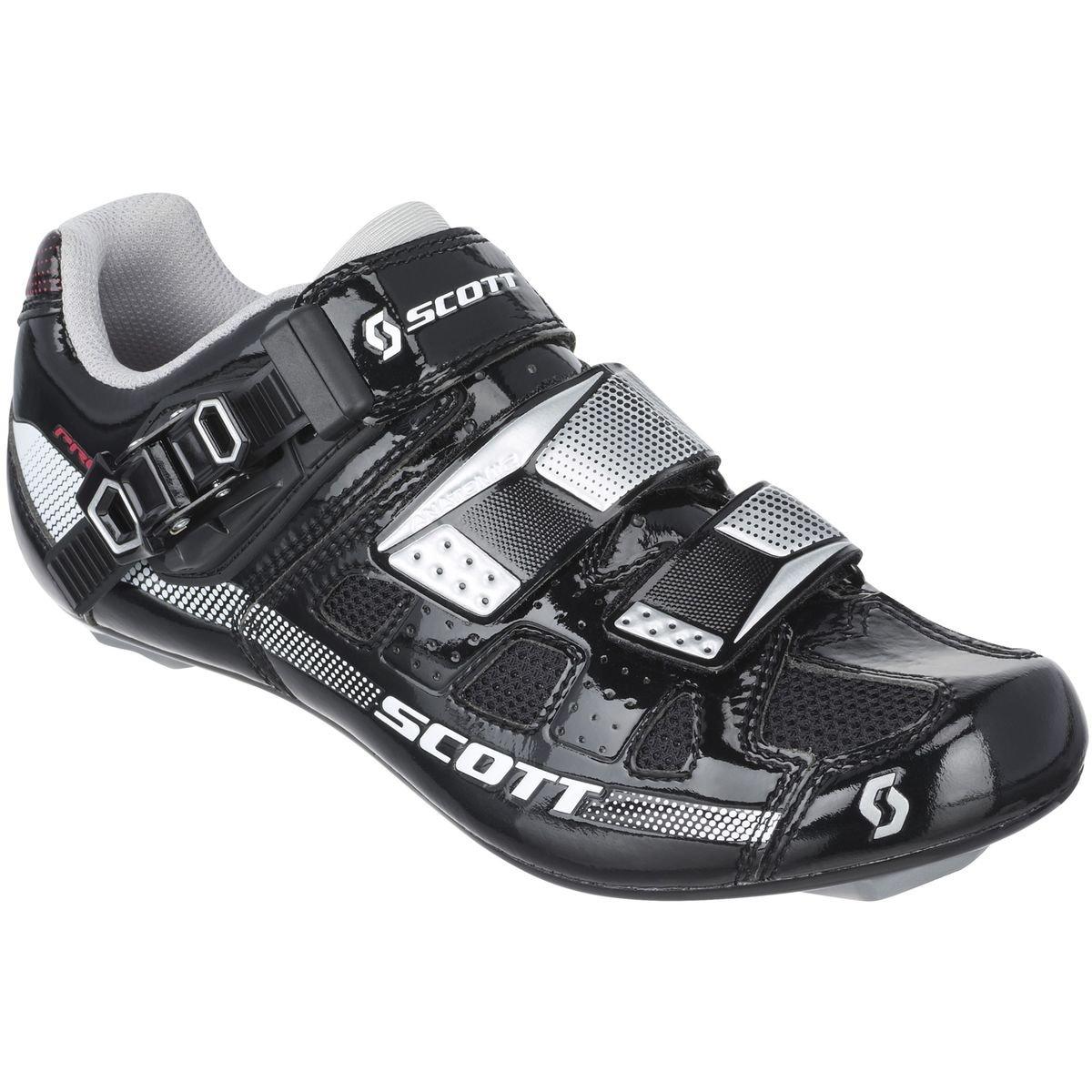 Scott Sports 2016 Women's Pro Road Cycling Shoe - 242137-4314 (black/white gloss - 38.0)