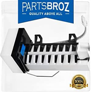 241798224 Refrigerator Ice Maker Assembly for Frigidaire Kenmore Electrolux by PartsBroz - Replaces 241798231, AP6332951, 5304456671, 241798201, 241642501, 241642511, 241798209, 241798211, 5304456669