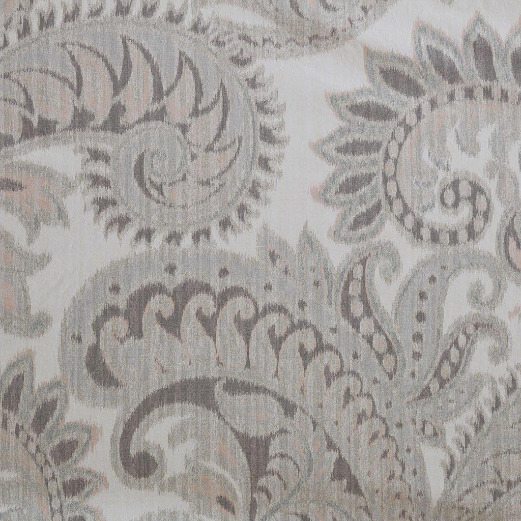 Ink+Ivy Mira 100% Cotton Printed Shower Curtain Blush 72x72