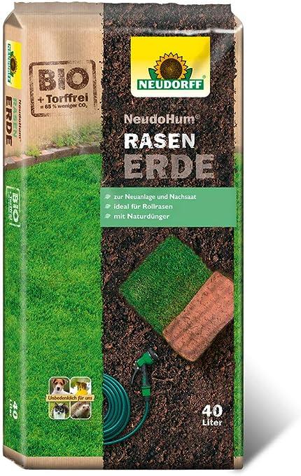 Neudorff NeudoHum - Saco de Tierra para césped (40 L): Amazon.es: Jardín