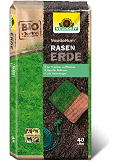 Rasenerde Plantop 20 Sack je 45 Liter = 900 Liter Qualit/äts-Rasensubstrat aus Bayern