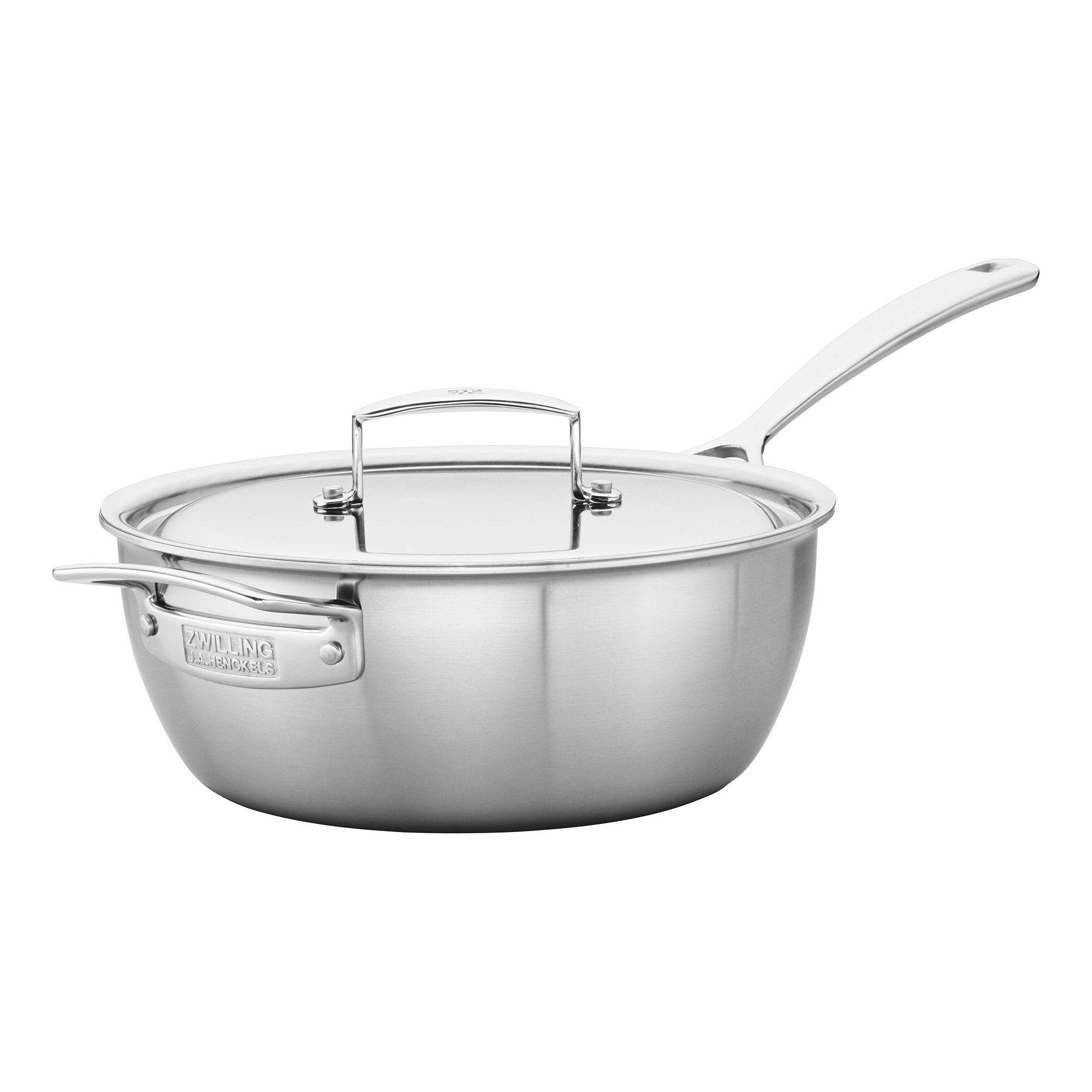 ZWILLING J.A. Henckels 66080-240 Saucier, 3.5 quart, Stainless Steel by ZWILLING J.A. Henckels (Image #3)