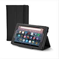 NuPro Funda plegable de alta calidad para el tablet Fire HD 8, color negro