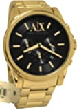 Armani Exchange Mens Gold Chronograph Bracelet Wat