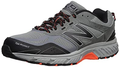 3fd0e41810d New Balance Men's 510v4 Cushioning Trail Running Shoe, Grey/Black, 7 4E US