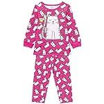 Pijama Infantil menina manga longa gatinha delicada
