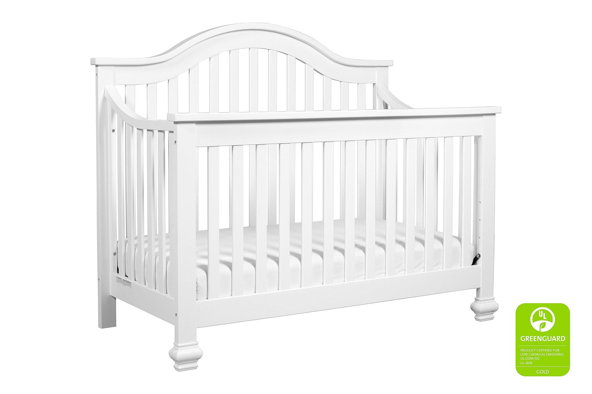 Davinci Clover 4-in-1 Crib Full Size Conversion Kit Bed Rails - White