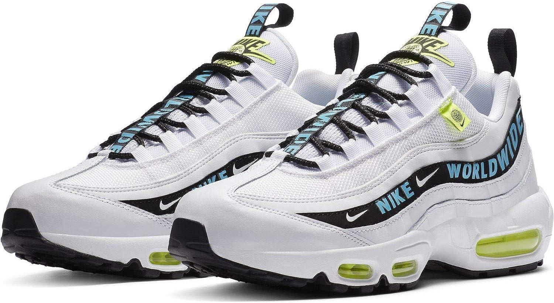 Compra querido crisantemo  Amazon.co.jp: Nike Air Max 95 Esui Air Max 95 SE White/Black/Blue  CT0248-100 Authentic Nike Japan Product: Shoes & Bags