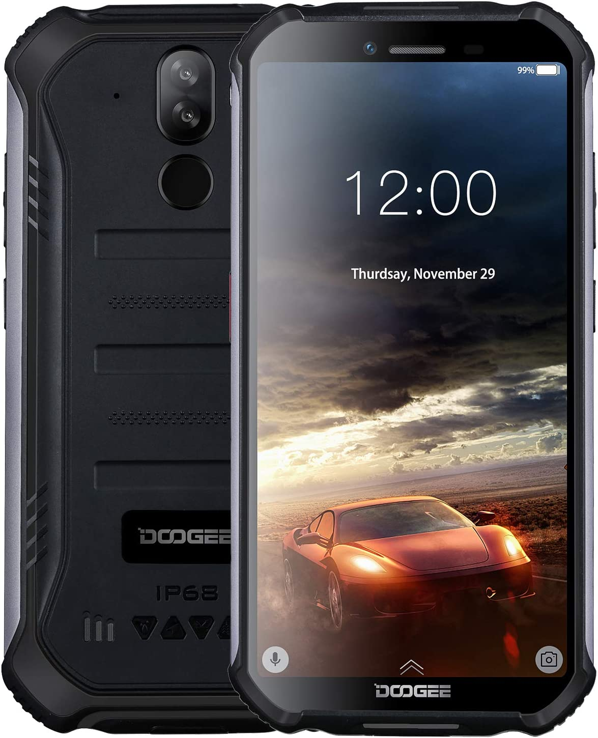 DOOGEE S40 4G Moviles Libres Antigolpes IP68/IP69K Impermeable ...