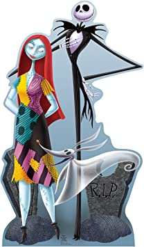 The Nightmare Before Christmas Standup Cardboard Cutout: Jack ...