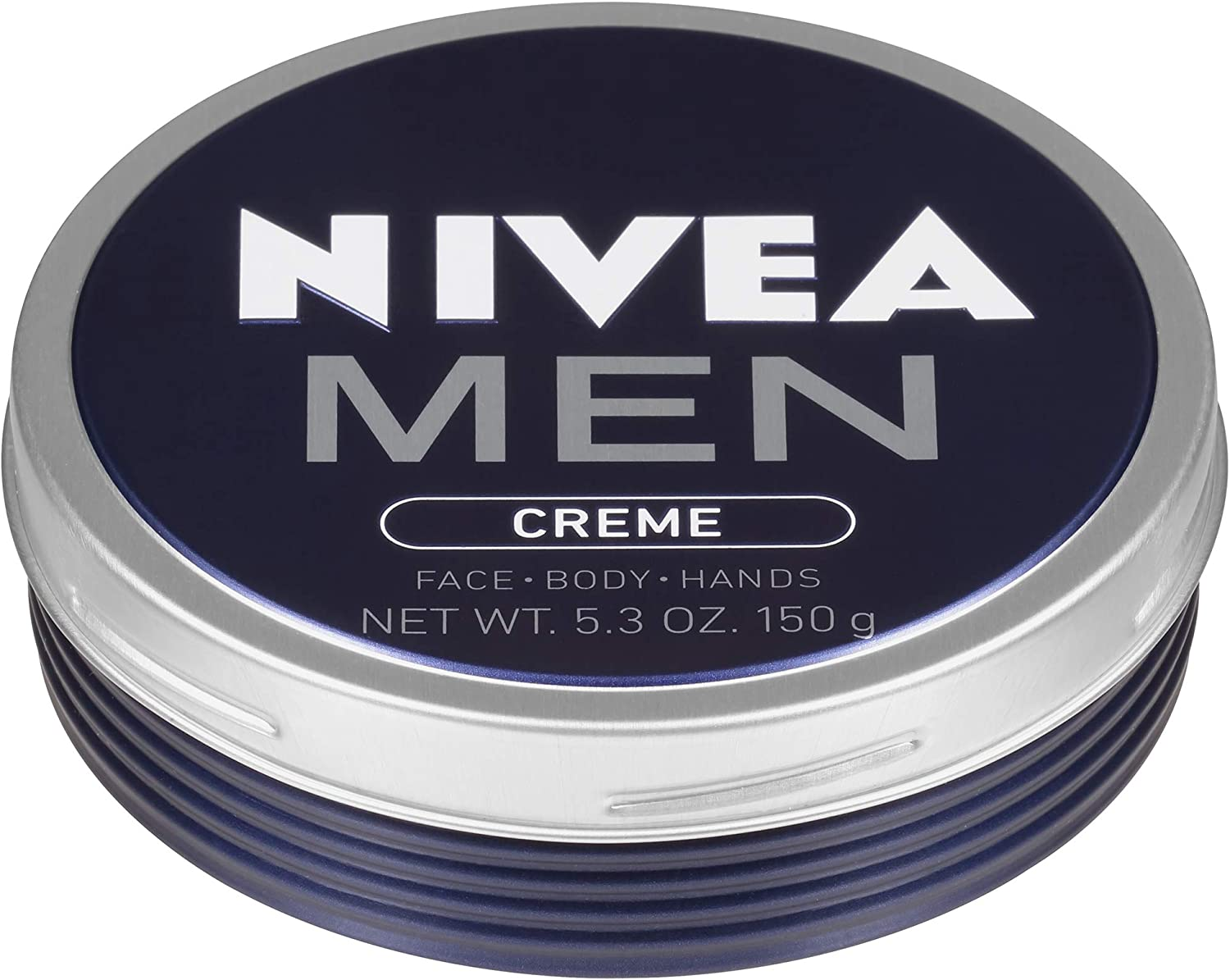 NIVEA Men Creme - Multipurpose Cream for Men - Face, hand and Body Lotion - 5.3 oz. Tin