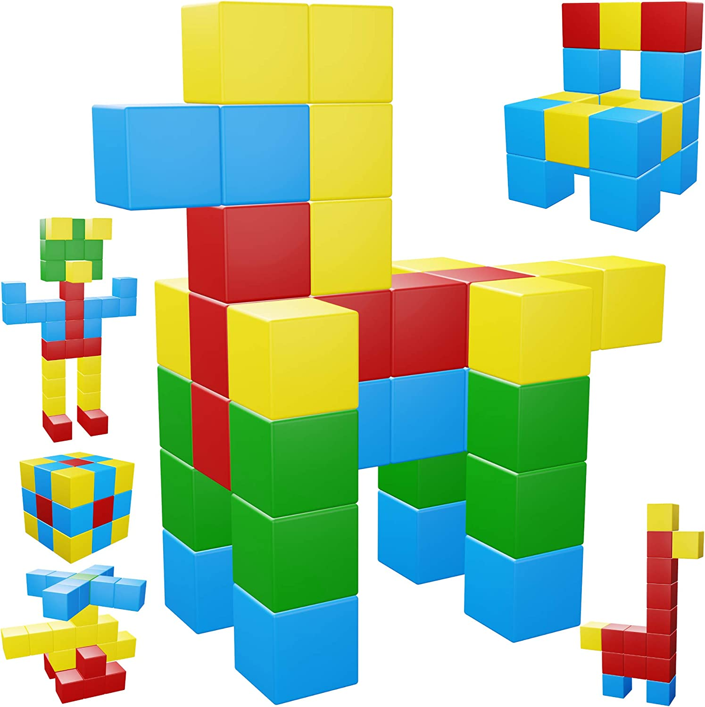 Stock Magnetic Blocks, 40 Pieces Establish