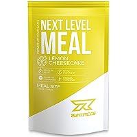 Runtime Next Level Meal - vollwertiger Mahlzeitersatz für langanhaltende Sättigung, Energie, Konzentration und Leistungsfähigkeit, mit Vitaminen und Nährstoffen, 1 Portion (150g) (Lemon Cheesecake)