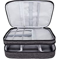 Ruberg Kabelorganiserare väska vattentät kabelväska stor hårddiskväska elektronisk väska dubbelskikt elektrisk…
