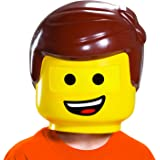 Disguise Emmet LEGO Movie 2 Half Mask Yellow, One Size Child