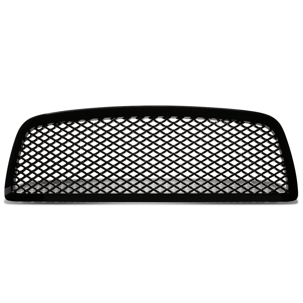 For Dodge Ram ABS Plastic Sport Mesh Front Bumper Grille (Black) - 4th Gen DS DJ Auto Dynasty GRZT-RAM-0910-BK