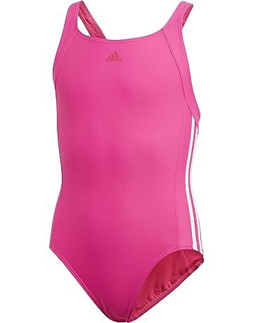 654f66f62a adidas Girls  Essence Core 3s Swimsuit