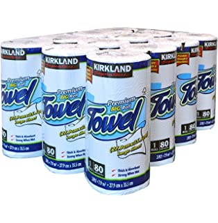 Kirkland Signature Triple Satin Toilet 240 Sheets Paper Tissue Pack of 40 Rolls