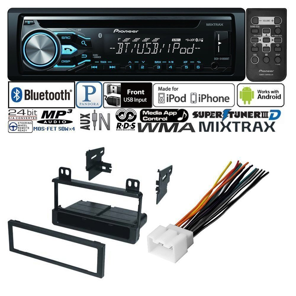 Car Radio Stereo Cd Player Dash Install Mounting Kit Mount Wiring Harness Antenna For Ford Lincoln Mercury Electronics