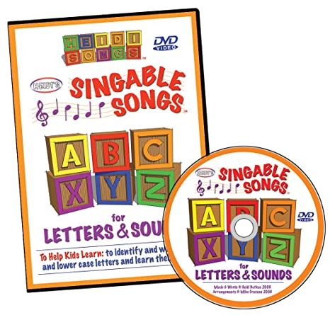 Amazon.com: Singable Songs for Letters and Sounds DVD: Heidi ...