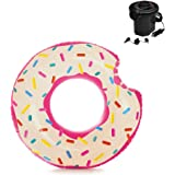 """Donut Inflatable Tube, 42"""" X 39"""" (Donut with Pump)"""
