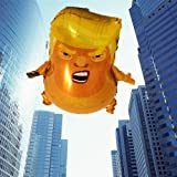 AM I A Baby Trump Baby Party Balloons Balloon Mini Size Funny Toy Donald Trump 23.6Inches