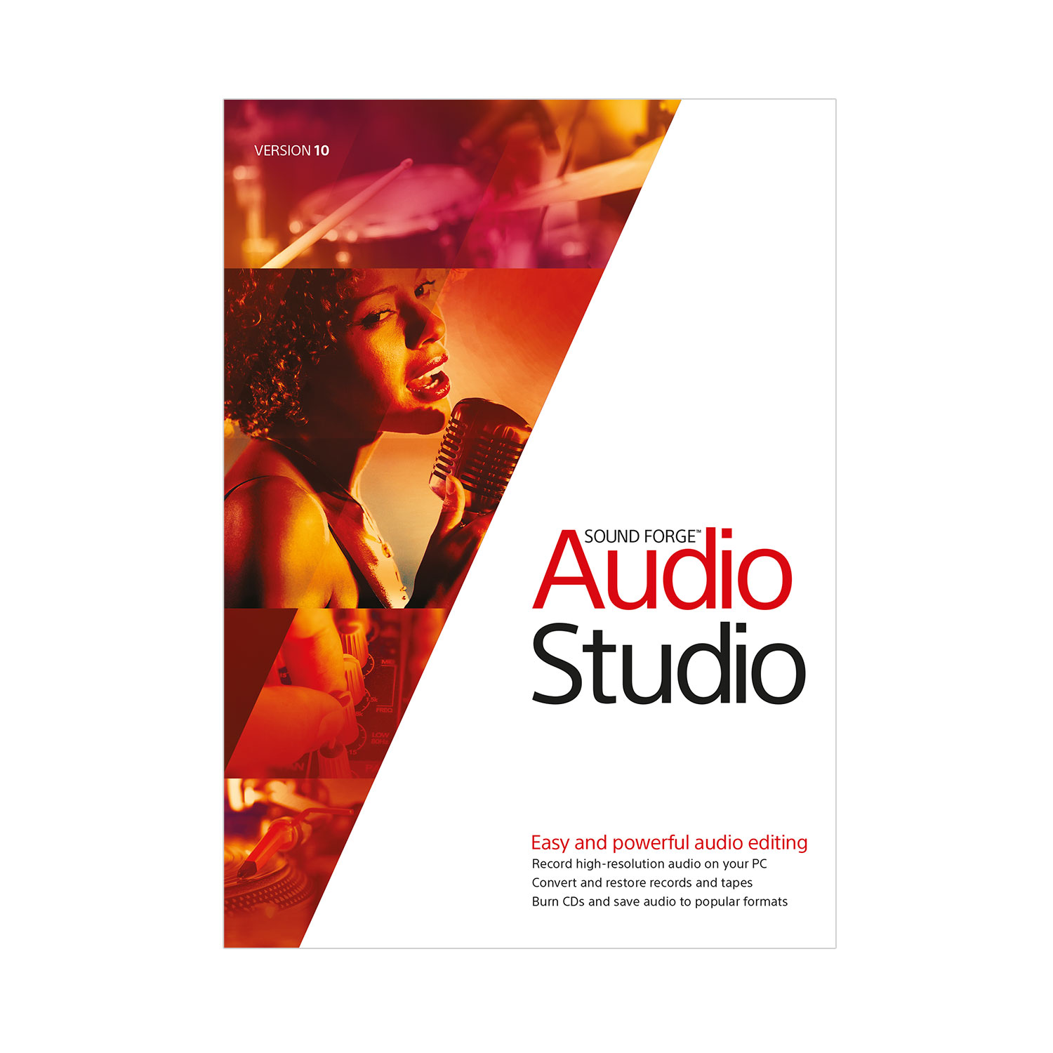 Sound Forge Audio Studio 10 [Download] by Sound Forge