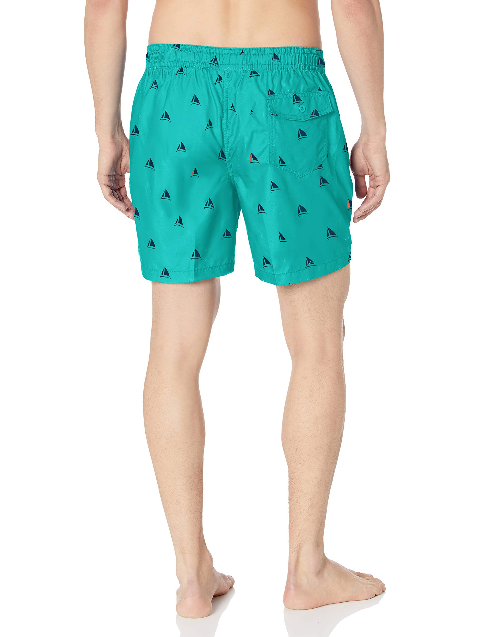 Kanu Surf Men's Jetty Geo Volley Swim Trunk
