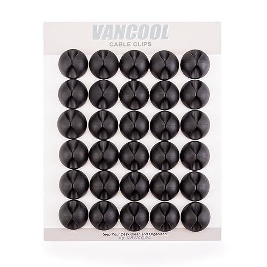 6 opinioni per 30 pezzi Clip a cavi con 3M autoadesivo, cavi e elettrodo organizzatore