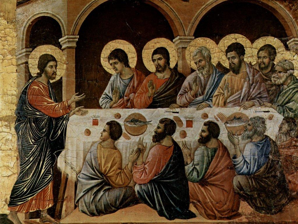 Lais Puzzle Duccio di Buoninsegna - Altarbekrönung, Erscheinung Erscheinung Erscheinung Christi Bei Dem Abendmahl der Apostel 2000 Teile b95bf4