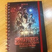Stranger Things A5 Ring Binder Notebook