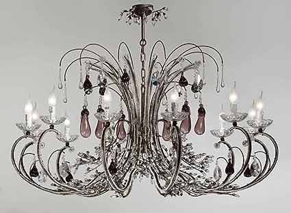 Kronleuchter Aus Murano Glas ~ Tredicidesign murano glas kristall kronleuchter murano früchte in