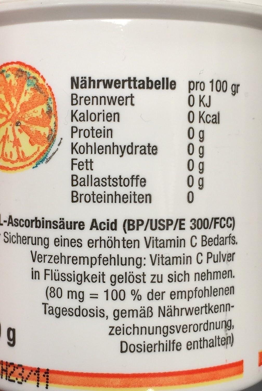 vitamin c und fett