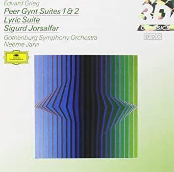 amazon peer gynt suites gothenburg symphony orchestra edvard