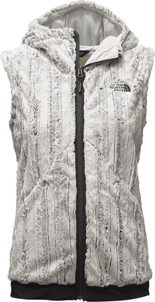 The North Face Women's Furlander Vest Medium Lunar Ice Grey/TNF Black