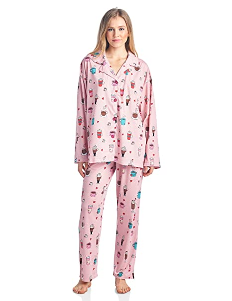 248d7971 BHPJ By Bedhead Pajamas Women's Lighweight Soft Knit Pajama Set