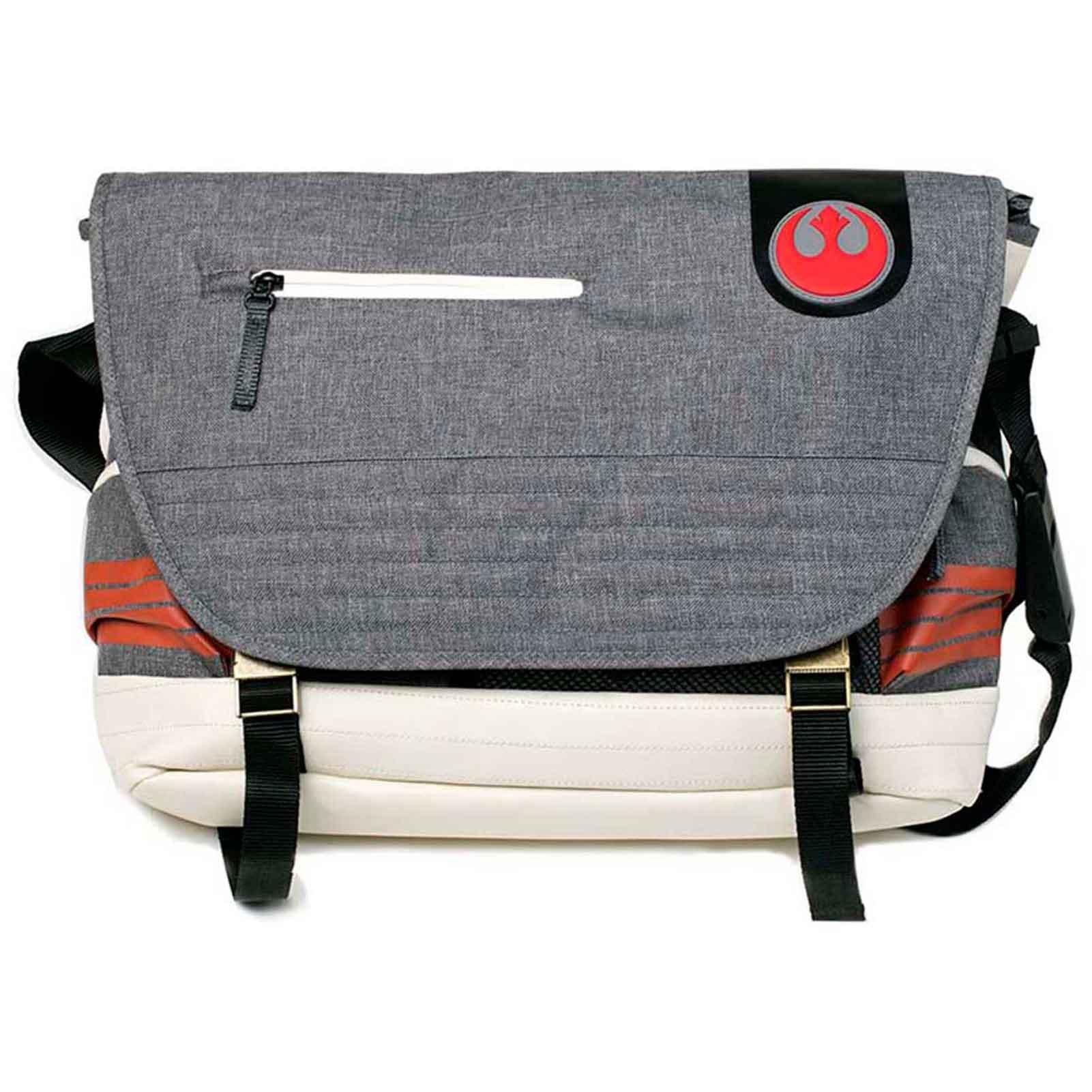 Star Wars Messenger Bag Rebel Pilot Inspired Official Grey