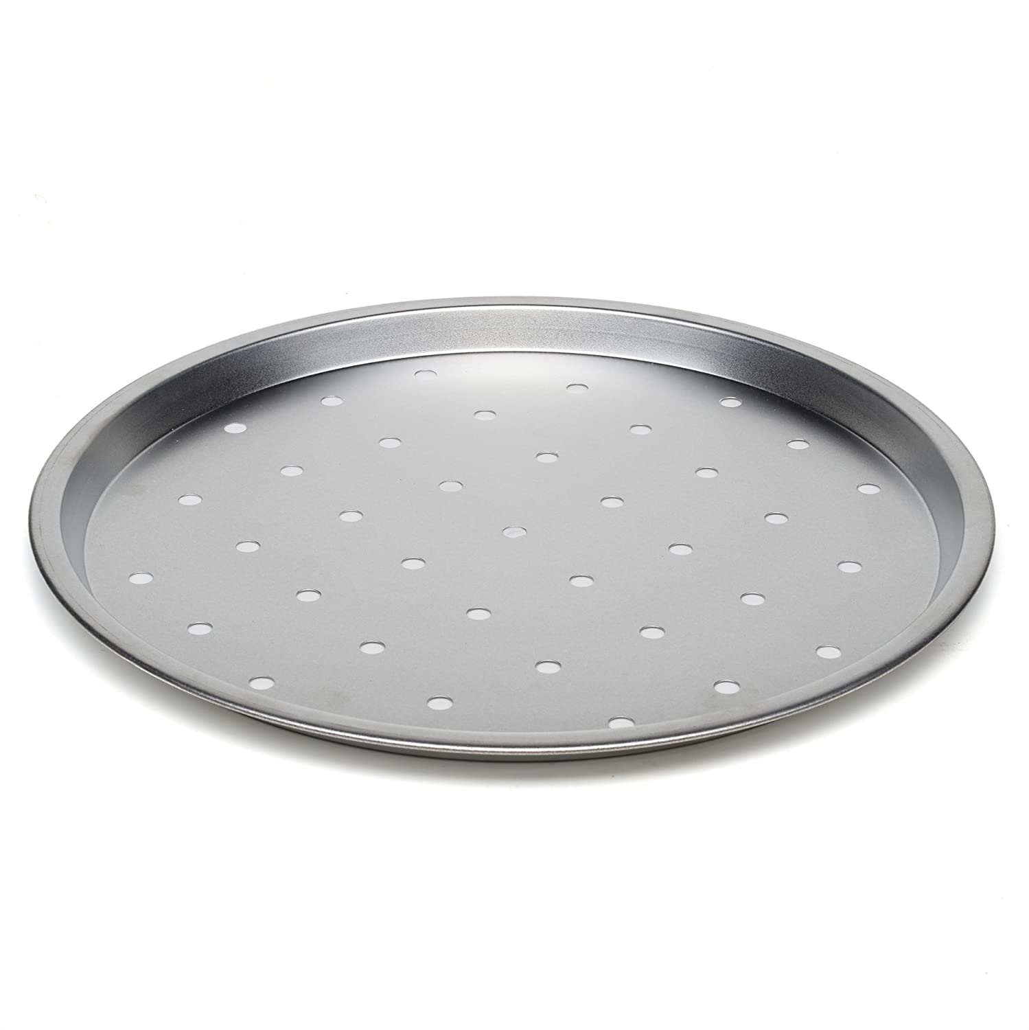 Large Pizza Crisper Tray Oven Baking Pan Roasting Tin Non Stick Pans 34cm Maxi Nature Kitchenware