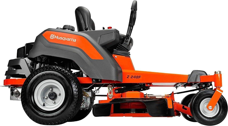 The Husqvarna Z242F 42 in. 18 HP Kawasaki Hydrostatic Best Riding Lawn Mower