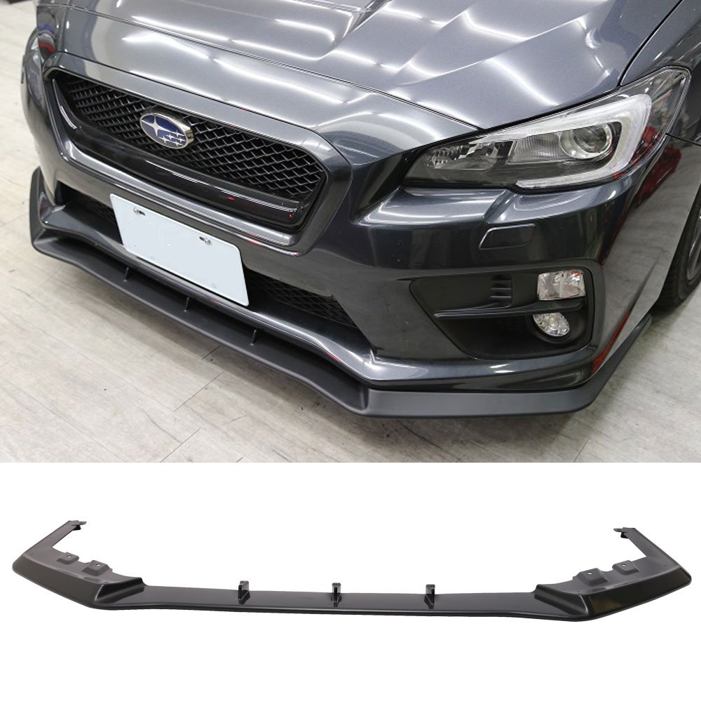 Rear Bumper Lip Splitter Diffuser ABS STI Style Fit  Fits 2015-2018 Subaru WRX
