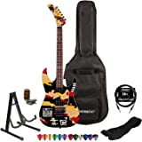 ESP/LTD GL-200K Signature Series George Lynch Electric Guitar with Cable, Strap, Stand, Picks & Gig Bag