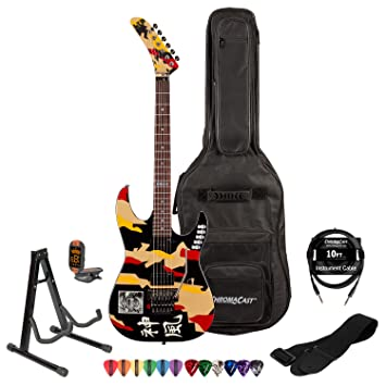 Esp/LTD gl-200 K Signature Series George Lynch guitarra eléctrica (con cable, correa, soporte, púas y Gig Bag: Amazon.es: Instrumentos musicales