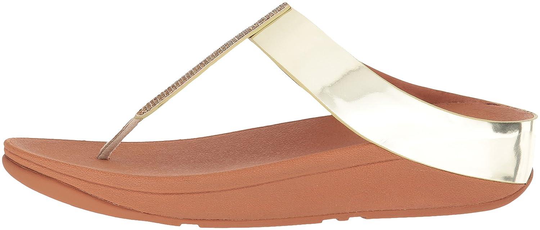 FitFlop™ Fino Damenschuhe Fuß Post Post Post Sandalen Metallic 9d3ae5