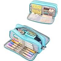 Coolzon Estuche Escolar con 3 Compartimentos, Estuches de Lápices de Gran Capacidad Estuche Organizador Portalapices…